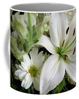 White Wonder Coffee Mug by Rory Sagner