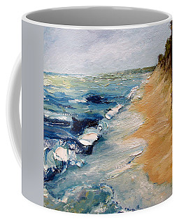Whitecaps On Lake Michigan 3.0 Coffee Mug