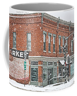 Whitehouse Ohio In Snow 7032 Coffee Mug