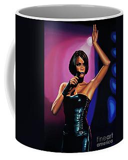 Whitney Houston On Stage Coffee Mug