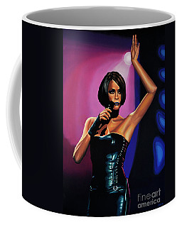 Whitney Houston On Stage Coffee Mug