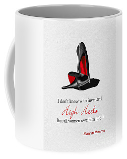 Who Invented High Heels? Coffee Mug