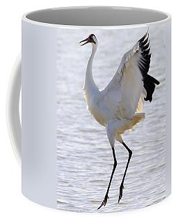 Whooping Crane - Whooping It Up Coffee Mug