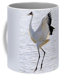 Whooping Crane - Whooping It Up Coffee Mug