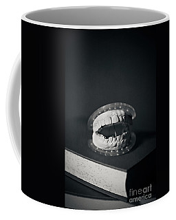Coffee Mug featuring the photograph Whose Teeth Are These? by Trish Mistric