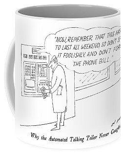 Why The Automated Talking Teller Never Caught Coffee Mug
