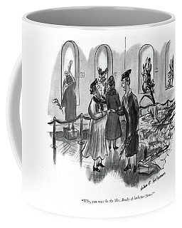 Why, You Must Be The Mrs. Brady Of Larkspur Fame! Coffee Mug