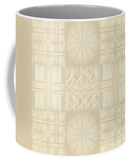 Wicker Quilt Coffee Mug
