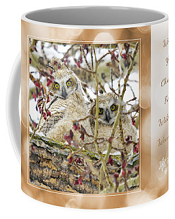 Wide-eyed Wonderment Coffee Mug by Dee Cresswell