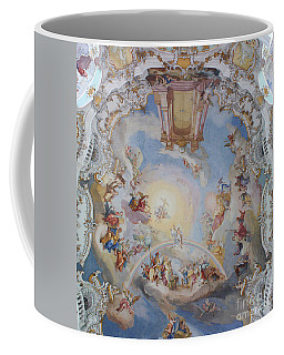 Wies Pilgrimage Church Bavaria Fresko Coffee Mug