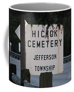Coffee Mug featuring the photograph Wild Bill Hickok by Michael Krek