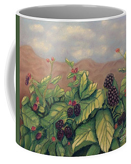 Wild Blackberries Coffee Mug