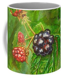 Wild Blackberries Coffee Mug