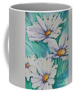 Wild Daisys Two Coffee Mug by Chrisann Ellis