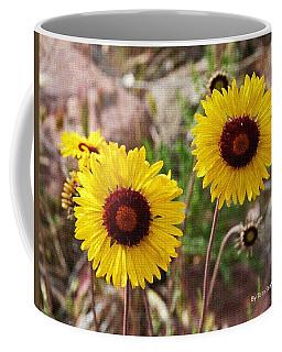 Wild Flowers Above The Rim Coffee Mug by Tom Janca