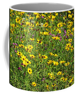 Wild Flowers Coffee Mug by Tim Townsend