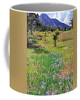 Wild Irises Coffee Mug