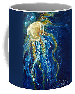Wild Jellyfish Reflection Coffee Mug