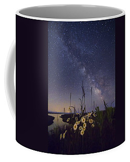 Wild Marguerites Under The Milky Way Coffee Mug