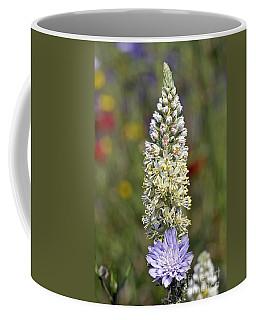 Wild Mignonette Flower Coffee Mug