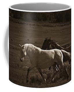 Wild Mustangs Of New Mexico 10 Coffee Mug