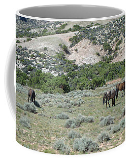 Wild Mustangs Coffee Mug
