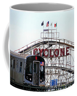 Coffee Mug featuring the photograph Wild Rides by Ed Weidman
