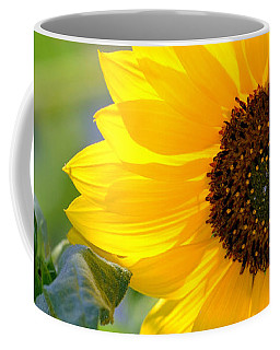 Coffee Mug featuring the photograph Wild Sunflower by Nadalyn Larsen