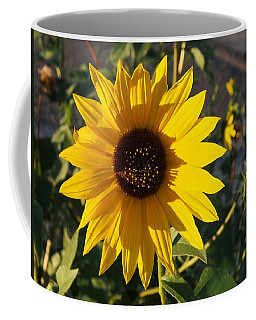 Wild Sunflower Coffee Mug by Nadja Rider