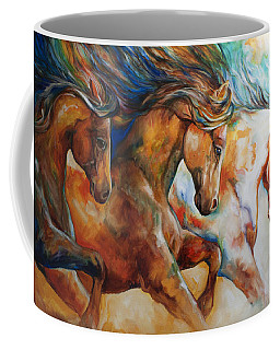 Wild Trio Run Coffee Mug
