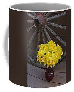 Coffee Mug featuring the photograph Wild West Daffodils by Diane Alexander