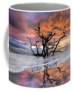 Wildfire Coffee Mug by Debra and Dave Vanderlaan