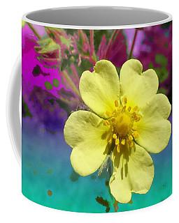 Wildflower Abstract Coffee Mug
