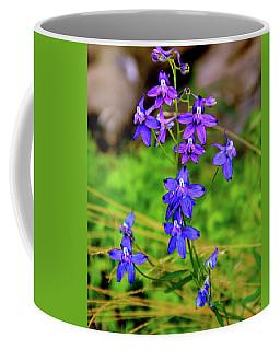 Wildflower Larkspur Coffee Mug
