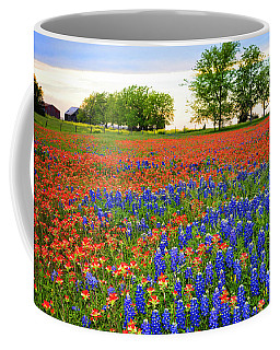 Wildflower Tapestry Coffee Mug