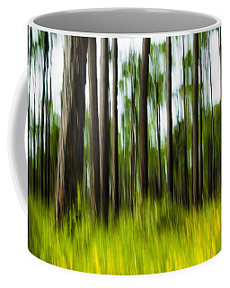 Wildflowers In The Forest Coffee Mug