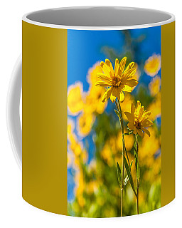 Wildflowers Standing Out Coffee Mug