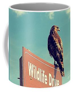 Wildlife Drive Greeter Coffee Mug