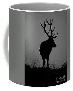 Wildlife Monarch Of The Park Coffee Mug by Linsey Williams