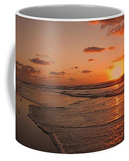 Wildwood Beach Sunrise II Coffee Mug by David Dehner