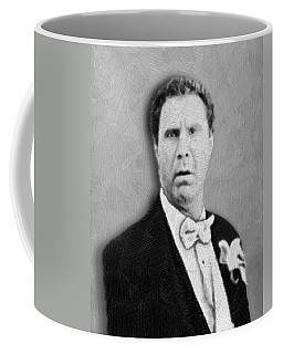 Will Ferrell Old School  Coffee Mug by Tony Rubino