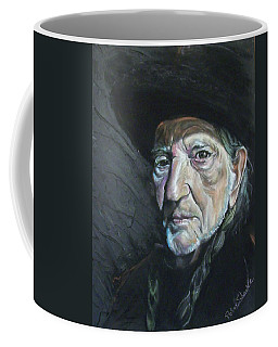 Coffee Mug featuring the mixed media Will by Peter Suhocke
