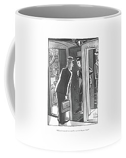 Will This Train Take Me Anywhere Near The Racquet Coffee Mug