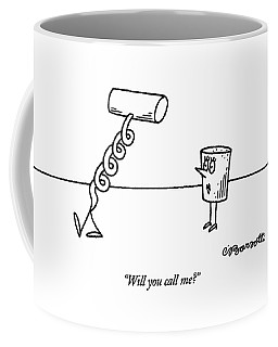 Will You Call Me? Coffee Mug