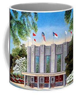 William Neal Reynolds Coliseum Coffee Mug by Shelia Kempf