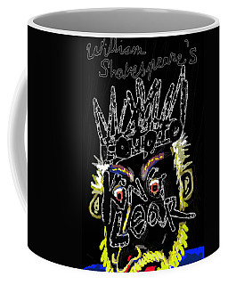 William Shakespeare's King Lear Poster Coffee Mug