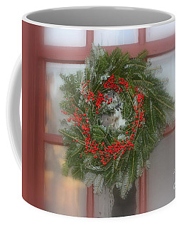 Williamsburg Wreath Coffee Mug