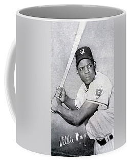 Willie Mays  Poster Coffee Mug
