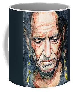Willie Nelson  Coffee Mug by Laur Iduc