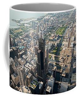 Willis Tower Southwest Chicago Aloft Coffee Mug